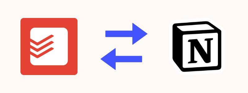 API Integration Todoist Notion