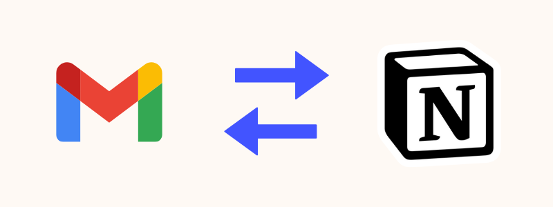Mail tasks to Notion API