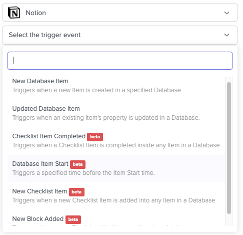 Automate Notion with API Triggers